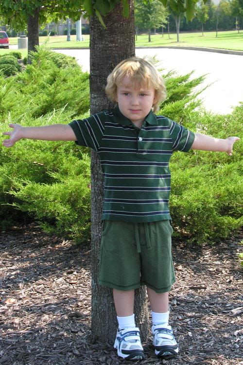 Mac @ preschool August '07
