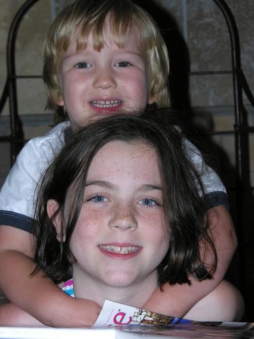 Sarah with Mac